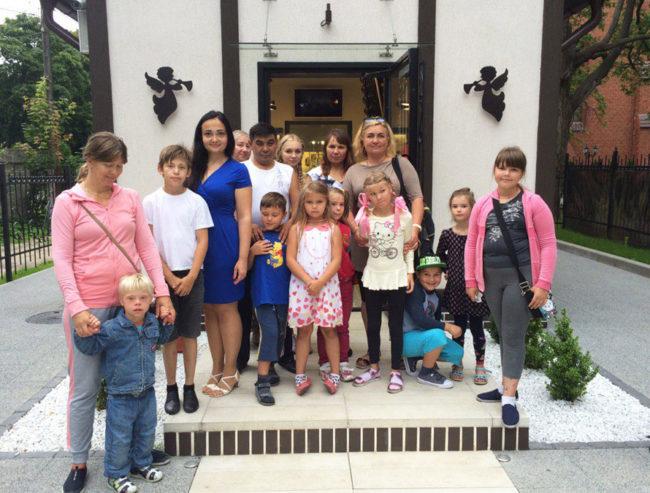 Благотворительная акция для особенных деток прошла в Музее «Домик Ангелов»