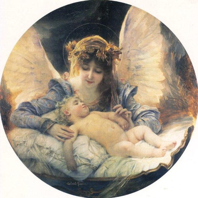 Ангелы на картинах Габриэля Ферье