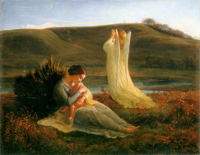 Картины Луи Жанмо из серии «Поэма души»
