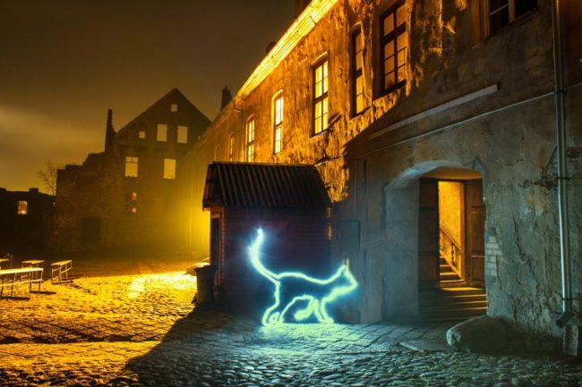 Чудесно обнаруженная коллекция Ангелов в старинном замке Инстербург