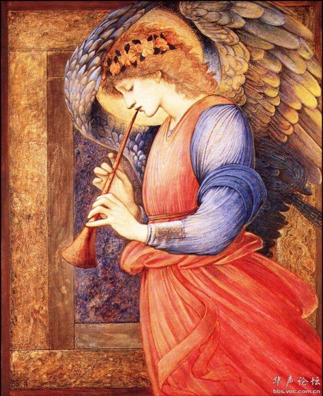 Ангелы на картинах и витражах Эдварда Бёрна-Джонса