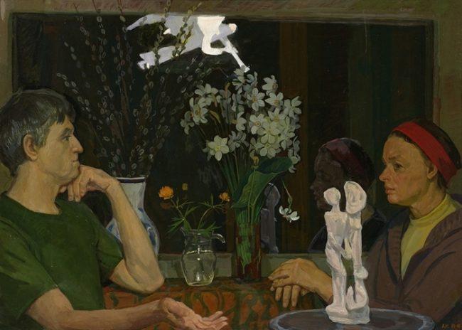 Ангелы на картинах советского соцреалиста Дмитрия Жилинского