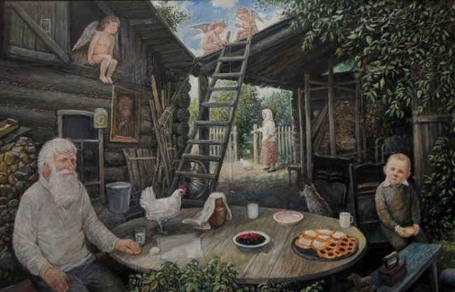 «Ангелы живут на крыше» Леонида Баранова