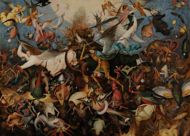 «Падение мятежных ангелов» Питера Брейгеля Старшего