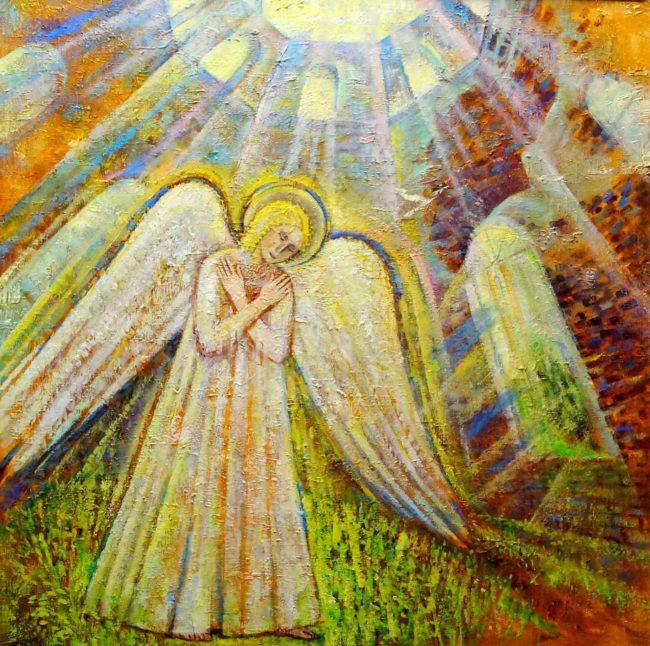 Выставка уникальных тактильных картин «Ангелы, к которым можно прикоснуться»