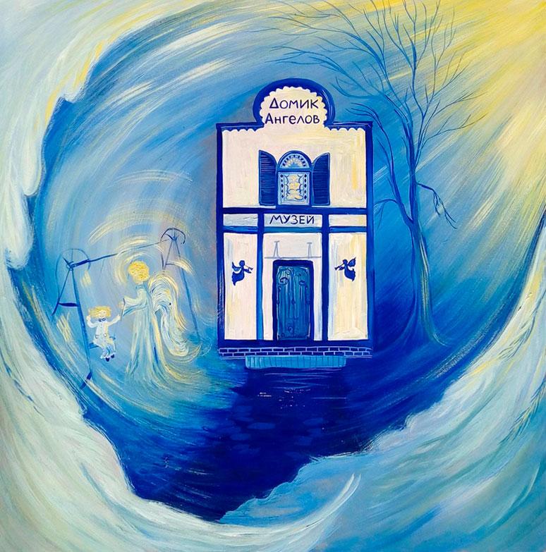 Мы открыли выставку тактильных картин в г. Калининград!