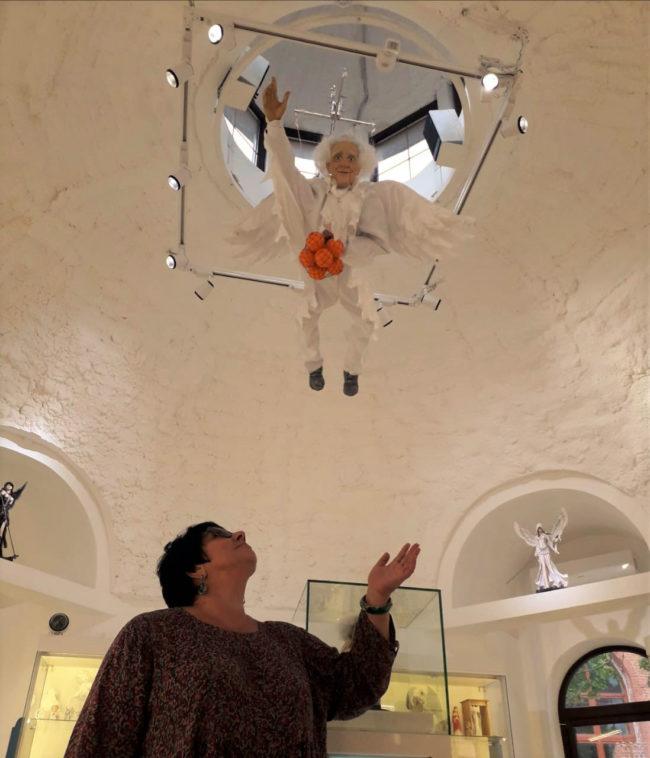 К нам в Музей прилетел настоящий Ангел!...