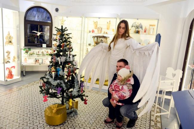 Светлое Рождество в Музее «Домик Ангелов»