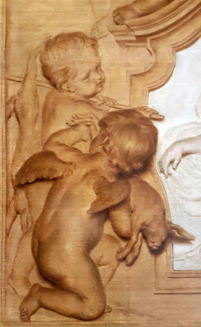 Ангельские «обманки» Эрмитажа