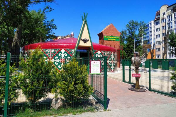 Юрта Музея Филинов и Сов «ФилоСовия»